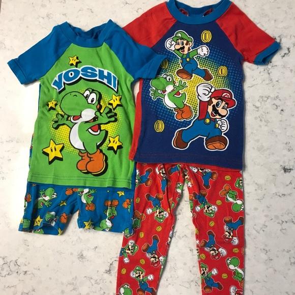 22a951f20a5 Super Mario Pajamas Set. M 5acd2e3336b9de4122b9a3fb